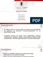 Check List Ocra Plantilla Up
