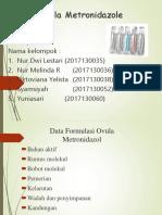Ppt Ovula Metronidazole Kel