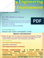 Preparative Energy Engineering and Environment