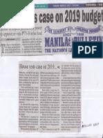 Manila Bulletin, Mar. 28, 2019, House rests case on 2019 budget.pdf