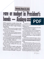 Peoples Journal, Mar. 28, 2019, Fate of budget in President's hands - Andaya.pdf