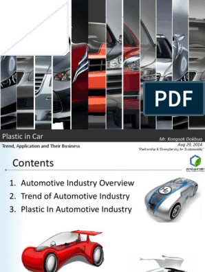 6 Plastic In Automotive Pdf Polyurethane Car