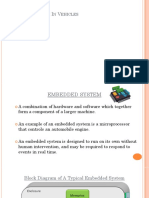 Ppt Embedded System in Vehicles