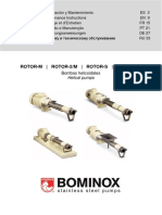Bominox Rotor Instruction Manual