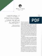 HISTORIA Y PSICOLOGIA
