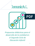 Propuestas Didácticas Para El Desarrollo de La Oralidad en El Segundo Ciclo de Infantil