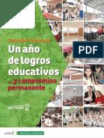 Unidos por la Educación - Un año de logros educativos