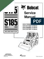 BOBCAT S175 SKID STEER LOADER Service Repair Manual SN 517625001 & Above.pdf