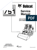 BOBCAT 751 SKID STEER LOADER Service Repair Manual SN 515730001 & Above.pdf
