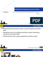 EAM.mm.EVA Training Mengelola Evaluasi Vendor