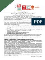 Les revendications et les motifs de la nouvelle journée d'actions des agents des Finances Publiques dans les Landes