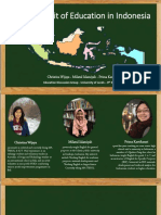 The Portrait of Education in Indonesia ppt.pptx