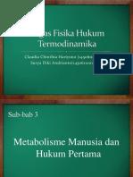 Tugas Fisika Hukum Termodinamika