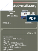 Mechnical CNC Machines PPT.pptx