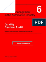 Vda 6-1 Quality System Audit