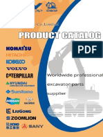 Sinocmp Excavator Product Catalog