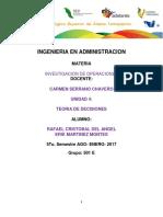 4.1- CARACTERÍSTICAS GENERALES DE LA TOMA DE DECISIONES.1- CARACTERÍSTICAS GENERALES DE LA TOMA DE DECISIONES.1- CARACTERÍSTICAS GENERALES DE LA TOMA DE DECISIONES.docx