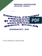 PLAN MANAGERIAL COMISIE PREVENIRE SI COMBATERE A VIOLENTEI.docx