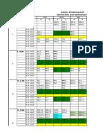 3. Jadwal Kuliah 2016 Blok Uro Repro 2-1