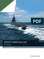 Sinavy Pem Fuel Cell
