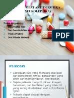 Obat – Obat Antipsikotika (Neuroleptika)