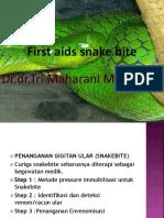 p3k snake bite