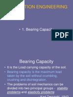 1. Bearing Capacity