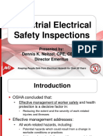 Electrical safety measures in Industries