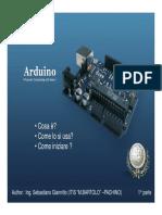 Arduino - Parte 01 - Cosa è