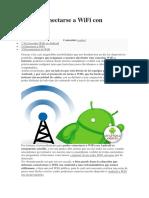 Cómo conectarse a WiFi con Android.docx