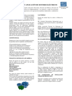 WEG Seleccion y Aplicacion de Motores Electricos Articulo Tecnico Espanol