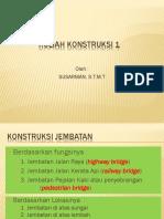 Kuliah Konstruksi 1_kls a Tgl 27 Feb_bangunan Jembatan __ke2