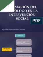 Servicios Sociales en Psicología
