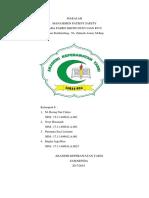 MANAGEMENT PATIENT SAFETY KEL 6.docx