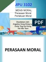 Tajuk 3 Perasaan dan perlakuan moral.ppt