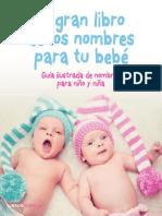 El gran libro de los nombres para tu bebe