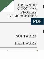 CREANDO NUESTRAS PROPIAS APLICACIONES.pptx