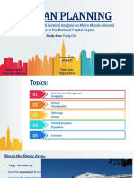 Urban Planning First Report