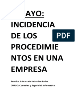 Practica 1. Ensayo.  Incidencia de los procesos en las empresas.docx