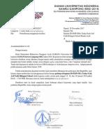 Surat Permohonan Penggunaan Fasilitas