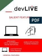 DevLIVE Presentation