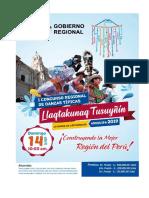 BASES PARA EL I CONCURSO REGIONAL DE DANZAS TÍPICAS AREQUIPA 2019 ORGANIZADO POR EL GOBIERNO REGIONAL DE AREQUIPA