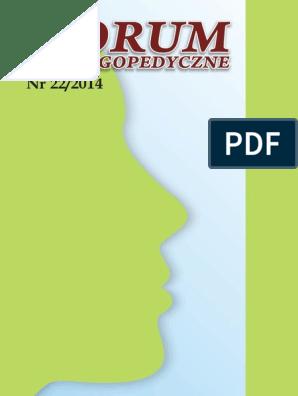 Forumlogopedycznenr22pdf