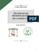 CURSO. TÉCNICAS DE MODIFICACIÓN DE CONDUCTA.docx