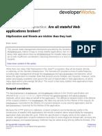 IBM- Are All Stateful Web Applications Broken [Brian Goetz] (2008)