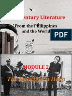 21st Century Literature Module 2