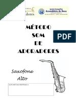 Método Som de Adoradores - Saxofone