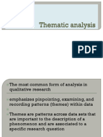 Thematic Analysis