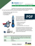 JONARD TETP900-Generadoor de Tonos y Pruebas (Pollo)