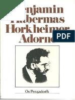 Benjamin, Habermas, Horkheimer e Adorno.pdf